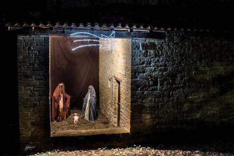 Presepe nel Metato - foto di Mauro Malvolti